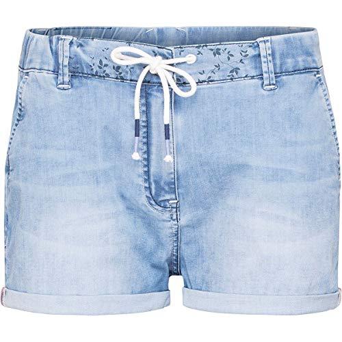 Chillaz Damen Summer Splash Shorts, Light Denim, EU 42