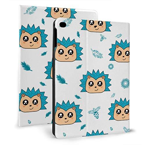 Protective Case For Ipad Fierce Hedgehog Bright-colored Universal Ipad Case For Ipad Mini 4/mini 5/2018 6th/2017 5th/air/air 2 With Auto Wake/sleep Magnetic Ipad Case Covers