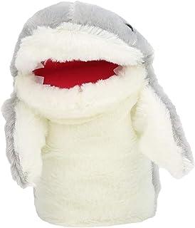 Shark Hand Puppet,Shark Puppet,Cute Gray Shark Hand Puppets Story Time Short Plush Toys Dolls for Kid Baby,Baby Shark Hand...