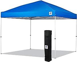 NEW E-Z UP Envoy Instant Shelter Canopy, 10 by 10', Royal Blue