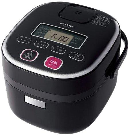 Sharp Electronic Rice Cookers 0.54l Black Type System Ks-c5g-b