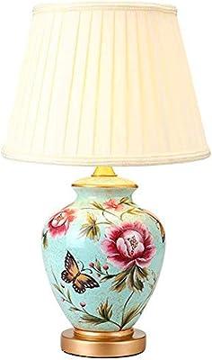 Cerámica turmalina Decoración Lámparas de mesa,Dormitorio Lámpara ...