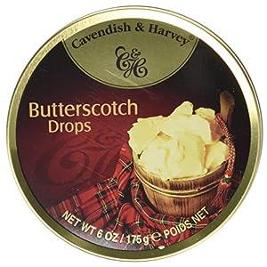 cavendish & harvey travel tin butterscotch drops 175 g (pack of 9) Cavendish & Harvey Travel Tin Creamy Butterscotch Drops 175 g (Pack of 9) 51W CgnHHxL