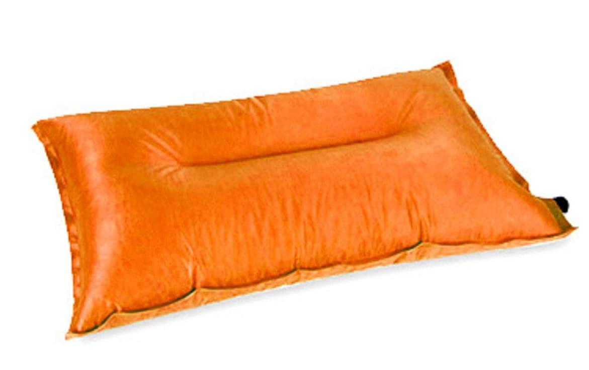 置き場遅滞おなじみの屋外の自動インフレータブルピローキャンプポータブル枕