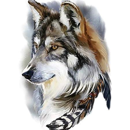 Männer tattoo arm wolf