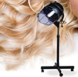 Knoijijuo Piano Capelli Stand Vapore processore a Colori Salone di Capelli Capelli Cappa di Essiccazione Timer Professionale Barber Styling Parrucchiere Parrucchiere