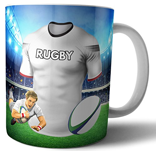 Ulster Rugby - Taza, diseño de rugby
