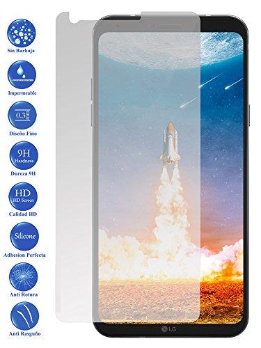 Todotumovil Protector de Pantalla LG Q6 de Cristal Templado Vidrio 9H para movil