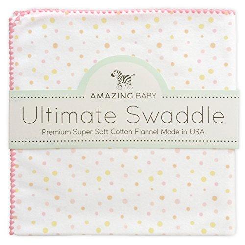 Amazing Baby by SwaddleDesigns - Manta franela algodón