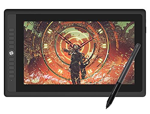 Xyfw Pantalla De Tableta Gráfica para Dibujar 15.6'Pantalla IPS HD Laminada Completa con Lápiz Sin Batería De 8192 Niveles