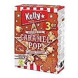 POP CORN KELLY PER MICROONDE CARAMEL POP GUSTO CARAMELLO 3 X 90g