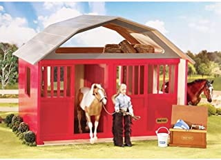 two stall horse barn