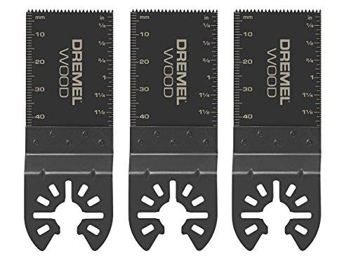 Dremel MM480B Wood Flush Cut Blades, 3-Pack