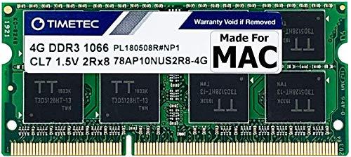 Timetec Hynix IC compatible con Apple 4GB DDR3 PC3-8500 1066