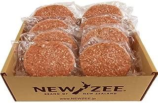 NEWZEE ハンバーグ パティ 【100%ニュージーランド産牛肉】 150g×8枚 (合計1.2kg) 【冷凍】 - NEWZEE [100% NEW ZEALAND BEEF] Hamburger Patties - 8 x 150g patties (1.2kg) [FROZEN]