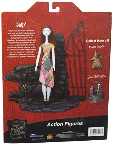 Nightmare Before Christmas Sally Select Action Figure 2