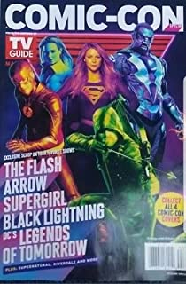 TV Guide Magazine SPECIAL Comic-Con 2018 (Group of Heros) flash, supergirl, black lighting, etc