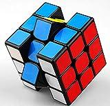 cfmour Rubix cube original 3x3 Colour-Matching Puzzle,Speed Cube,3x3 PVC Sticker Cube Puzzle Cube IQ Toys for kids 56mm