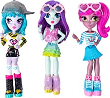 Off the Hook Style Doll 3-Pack, 4-inch Small Dolls with Mix and Match Fashions and Accessories, for Girls Aged 5 and Up,...
