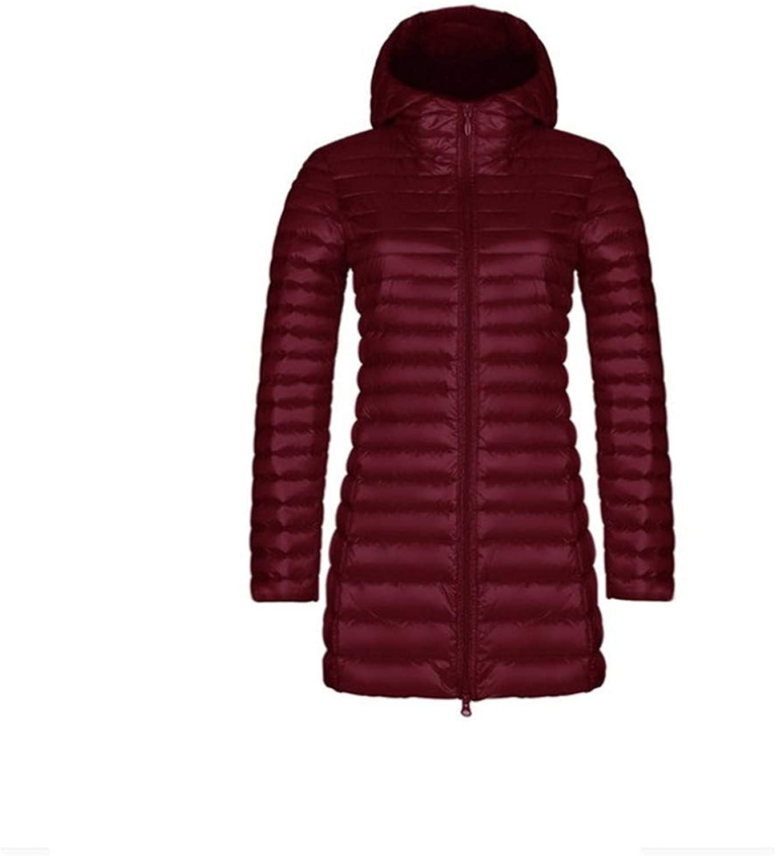 Aehoor Womens Long Down Jacket Winter Warm Jacket Super Light Coat Coat90% Duck Down