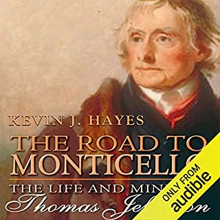The Road to Monticello audiobook cover art