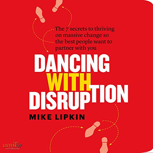 Dancing with Disruption audiobook cover art