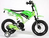 Volare Motobike Bicicleta para niños, Verde, Satin Green