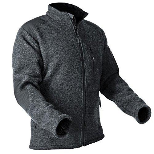 Pfanner warme Wooltec Jacke aus Merinowolle, Größe:XL, Farbe:grau