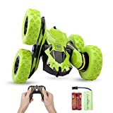 Sugoiti Remote Control Car, RC Stunt Car for Kids 4WD Off Road Rechargeable 2.4GHz Double Sided Rotating 360° Flips Vehicles Gift for Boys &Girls Age 3-12