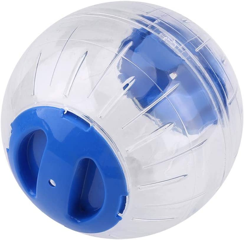 Blue Biuzi Hamster Exercise Ball 1Pc 12cm Plastic Jogging Travel Ball Fashion Small 3 Colors Optional Gerbil Exercise Ball