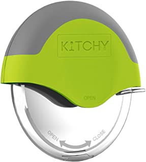 Kitchy Pizza Cutter Wheel – Super Sharp and Easy To Clean Slicer, Kitchen Gadget..