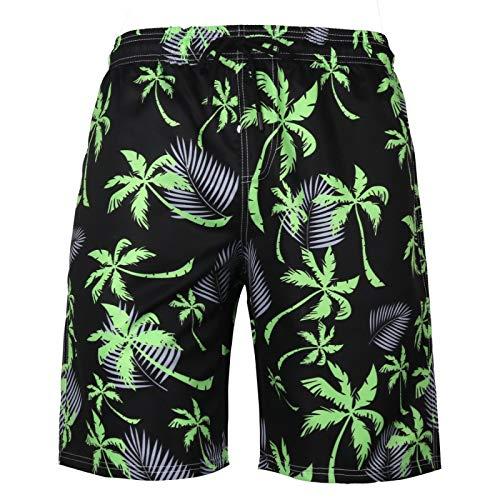 Pantalones cortos deportivos de secado rápido para hombres, ropa de calle suelta, estampado de tendencias, informales, cómodos, para exteriores, para fiestas en la playa, pantalones cortos básicos 6XL