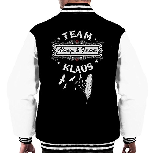 Cloud City 7 Vampire Diaries Originals Team Klaus Men's Varsity Jacket