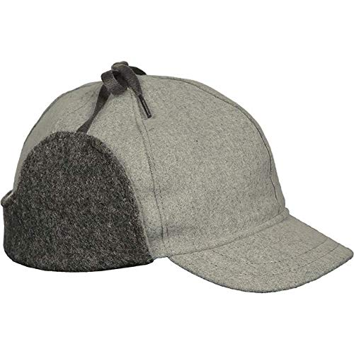 Stormy Kromer Snowdrift Cap - Insulated Wool Winter Hat with Ear Flaps
