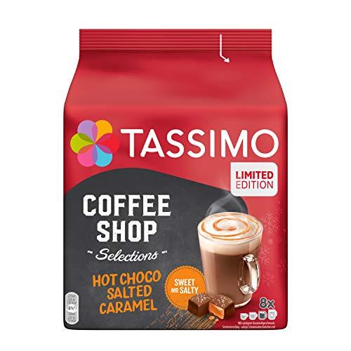 Tassimo Kapseln Coffee Shop Selections Hot Choco Salted Caramel, nur für kurze Zeit verfügbar, 40 Kakao Kapseln, 5er Pack, 5 x 8 Getränke, 1200 g, 4059062