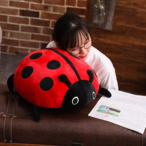 jieGREAT🎄 Süßes Anime Stofftier 🎄Simulation Käfer Sieben-Sterne Marienkäfer Puppe Plüschtier Kissen Kissen Kinder