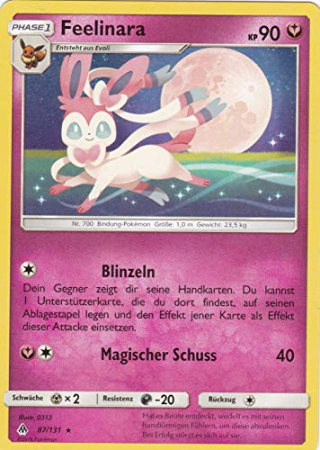 87/131 - Feelinara - Rare - Pokemon - Deutsch - Grauen der Lichtfinsternis
