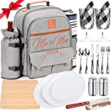 DELUXY Mr and Mrs Insulated Picnic Backpack...