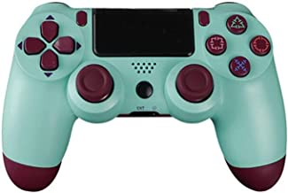 $72 » Bluetooth Game Controller Controller Bluetooth Vibration Gamepad for Playstation 4 Wireless Joystick for PS4 Games Console (Color : Burry Blue)