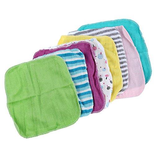 Suading Toalla de cara de Toallas de mano Pano de lavado de algodon 8pcs / Paquete