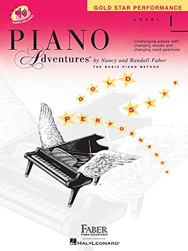 Level 1 - Gold Star Performance Book: Piano Adventures