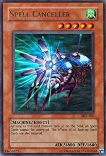Yu-Gi-Oh! - Spell Canceller (MFC-020) - Magicians Force - 1st Edition - Ultra Rare