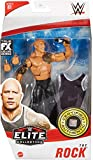 WWE The Rock Elite Collection Series 81 Action Figure 6 in Posable Collectible Gift Fans Ages 8 Years Old and Up