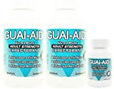 824 Guai-Aid® 600mg Guaifenesin Expectorant Caplets (Oval & Scored) - 2 Bottles of 400 & Travlet Bottle) Exp. Date 8/2022