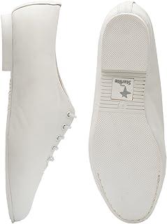 Starlite White Full Rubber Sole Jazz Shoe
