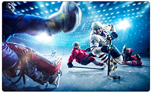 Eishockey Spieler Match Action Wandtattoo Wandsticker Wandaufkleber R1869 Größe 40 cm x 60 cm