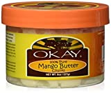 OKAY Pure Naturals Mango Butter 100% Pure Chunks, 8 Ounce, 0.22 kg