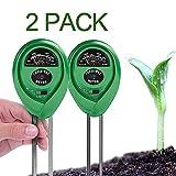 BeFirst Soil pH Tester Kits, 3-in-1 Soil Meter for Moisture, Light and pH/Acidity
