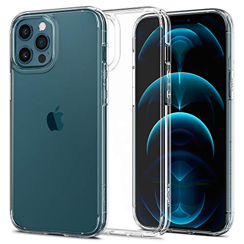 Spigen Ultra Hybrid Compatibile con Cover iPhone 12 PRO Max - Trasparente