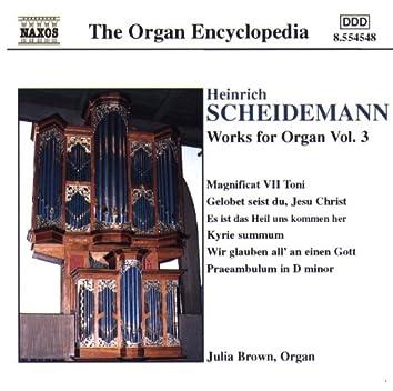 Scheidemann: Organ Works, Vol. 3